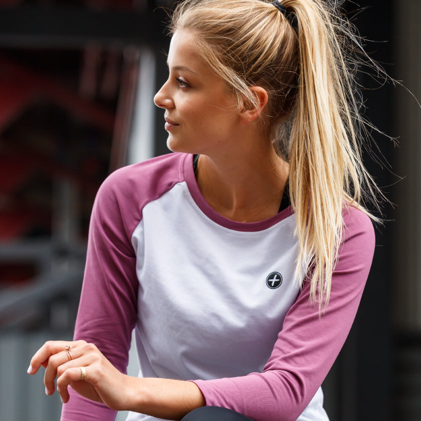 Gym Plus Coffee Shop The Connect Collection New Season Spring Summer Shop Womens Pink Home Run Tee