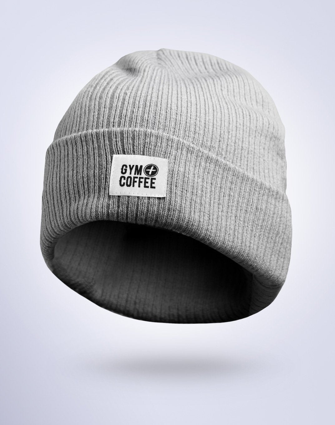 Gym Plus Coffee Beanie Classic Grey Beanie Designed in Ireland