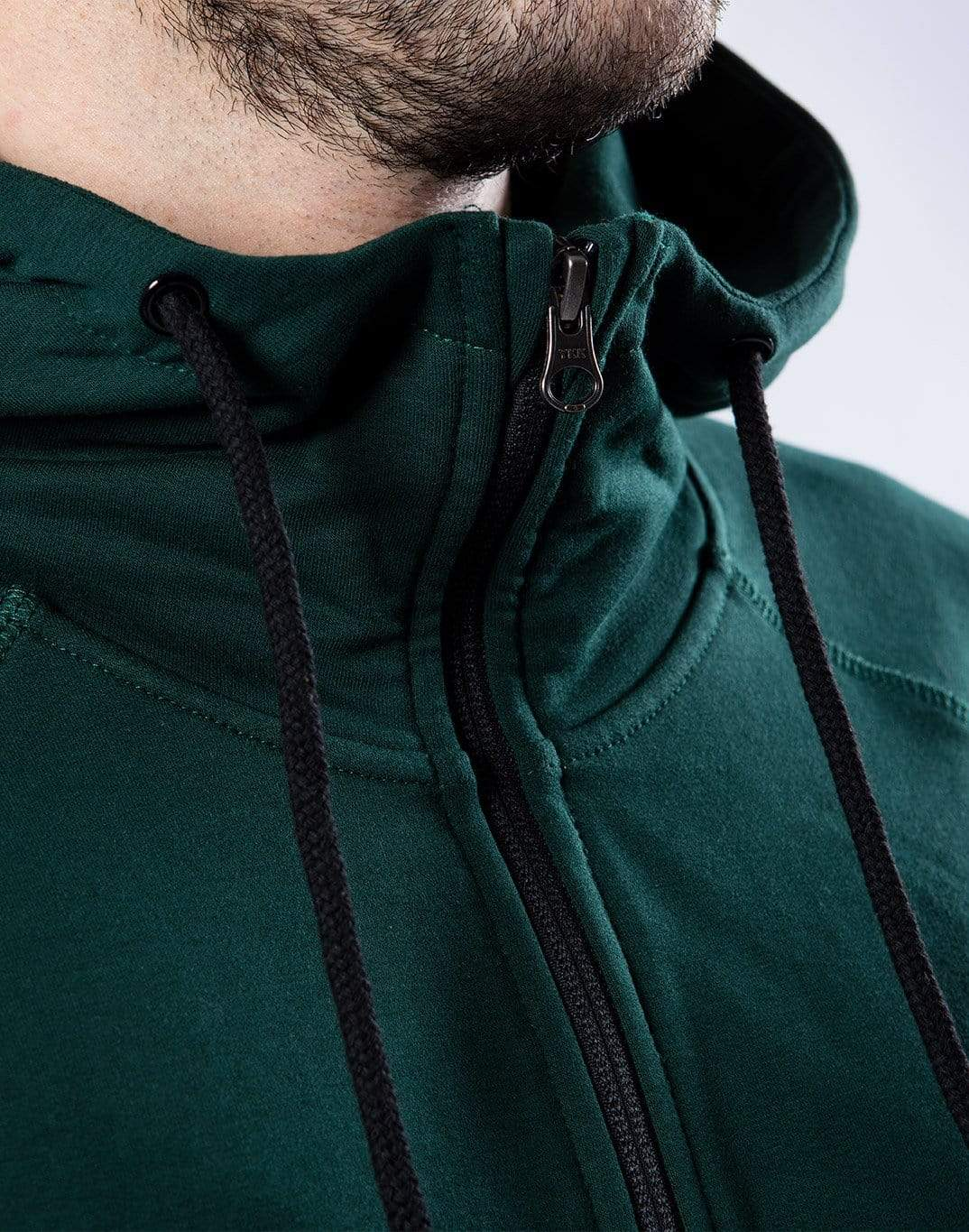 Gym Plus Coffee Classic Hoodie Men's Forest Green Hoodie Designed in Ireland