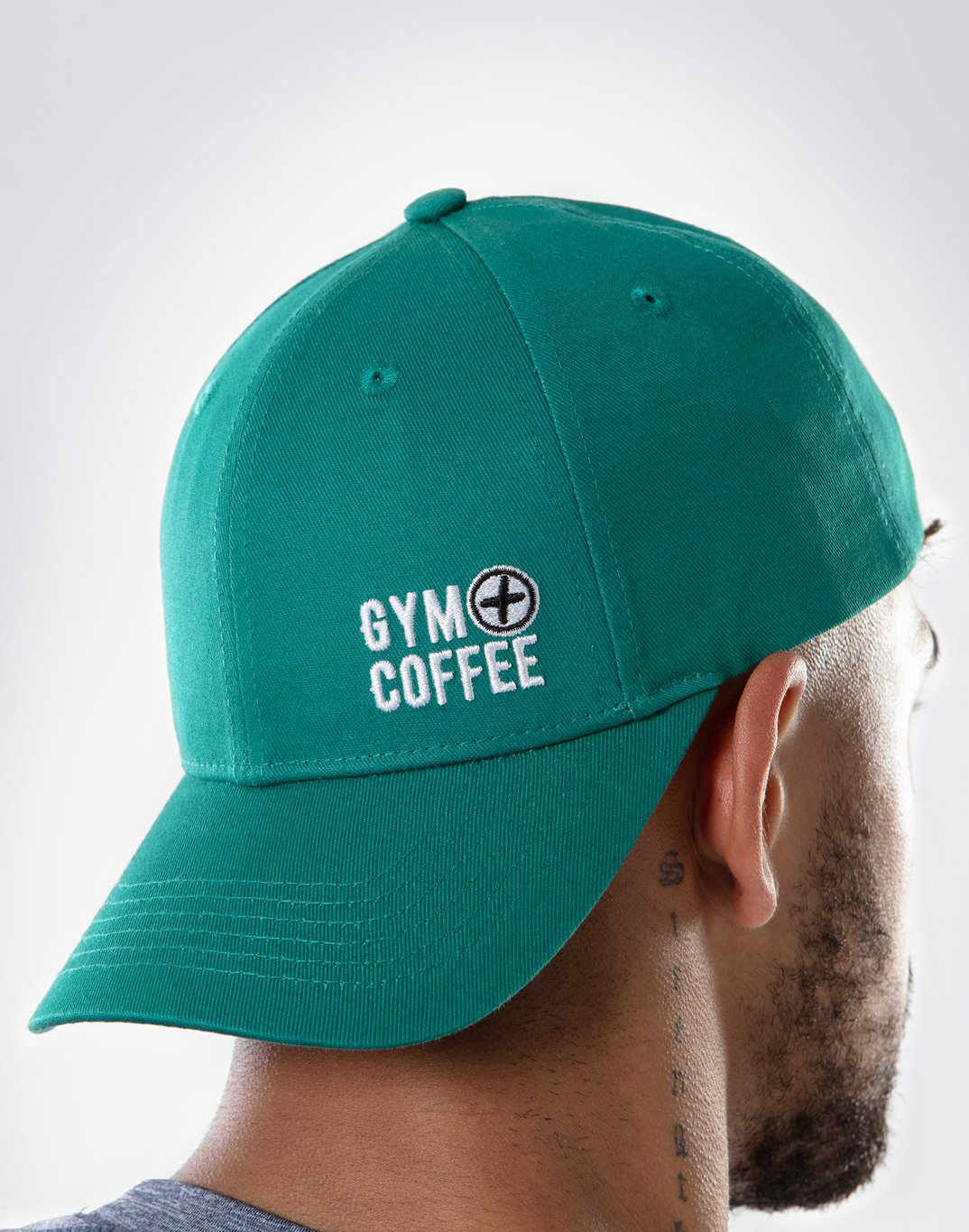 Gym Plus Coffee Hat Hats Off Cap in Green Designed in Ireland