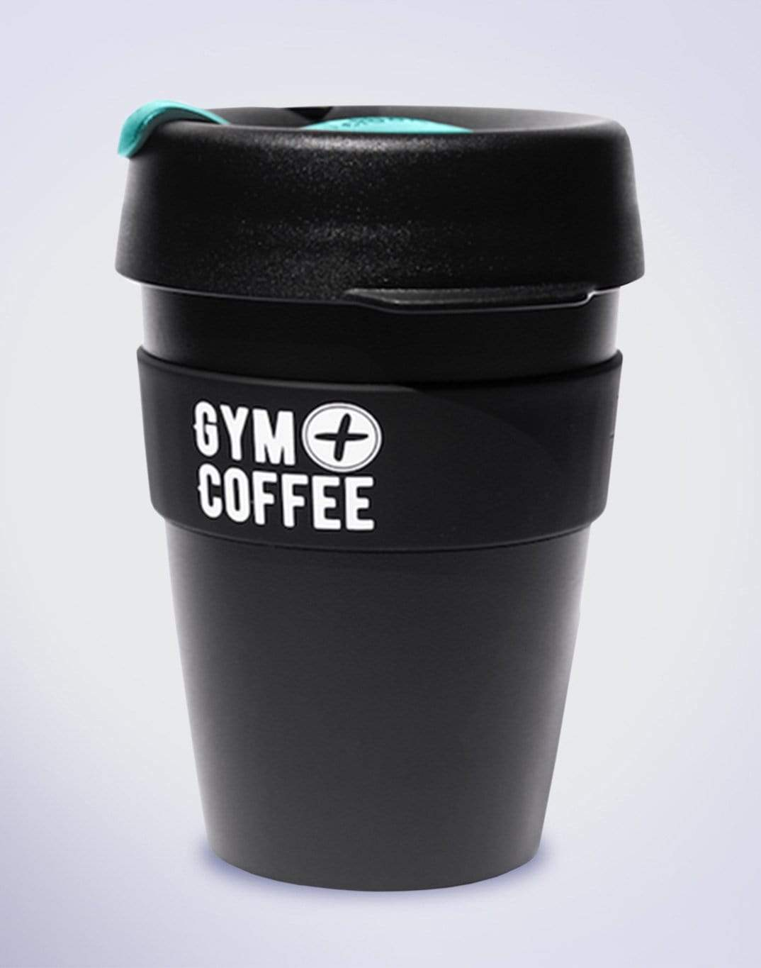 Gym Plus Coffee KeepCup Black/Green KeepCup Medium Designed in Ireland