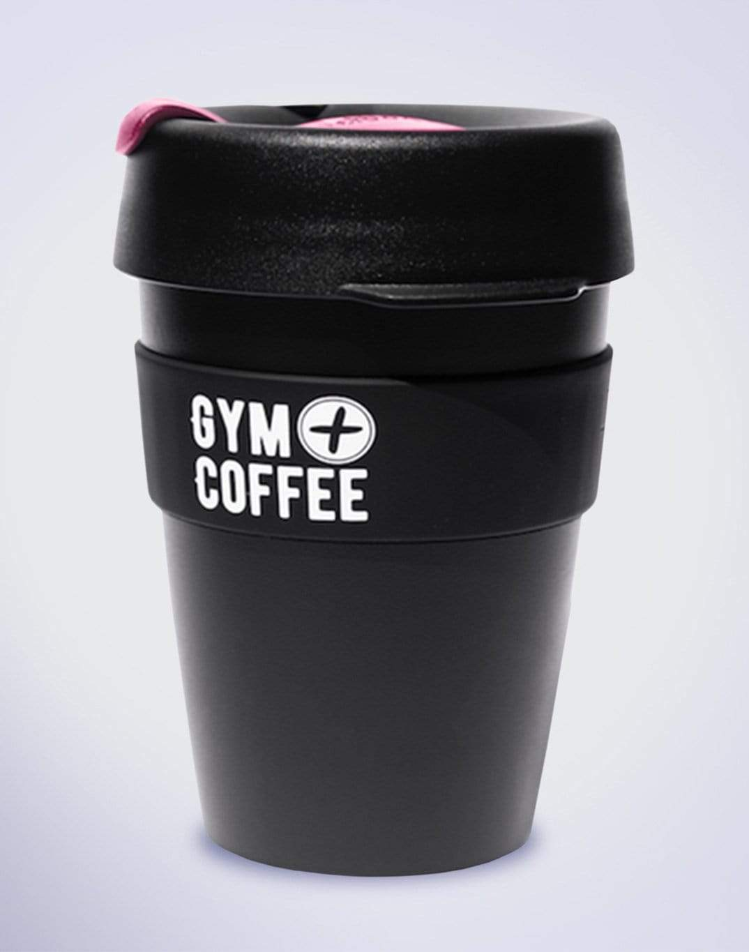 Gym Plus Coffee KeepCup Black/Pink KeepCup Medium Designed in Ireland