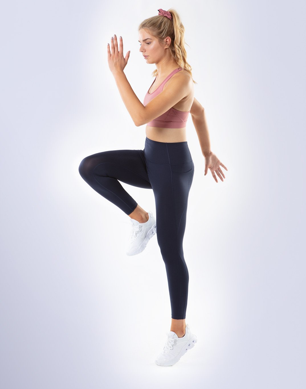 Gym Plus Coffee Leggings All-In Pant 2.0 in Navy Designed in Ireland