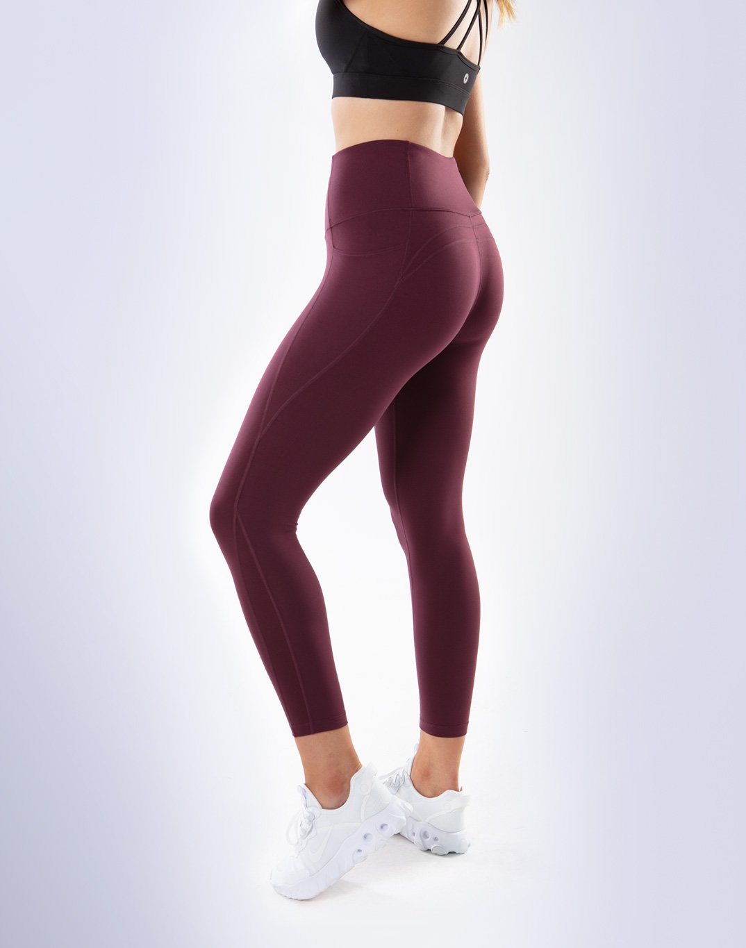 Gym Plus Coffee Leggings All-In Pant 2.0 in Plum Designed in Ireland