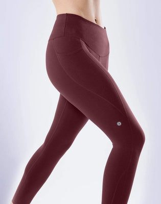 All-In Pant in Plum
