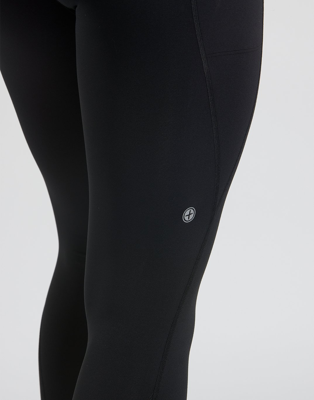 Gym Plus Coffee Leggings Womens All-In Legging in black Designed in Ireland