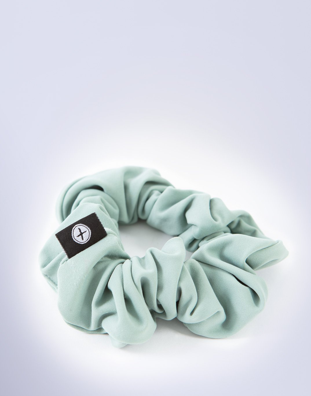 Gym Plus Coffee Scrunchie Swift Scrunchie in Green Designed in Ireland