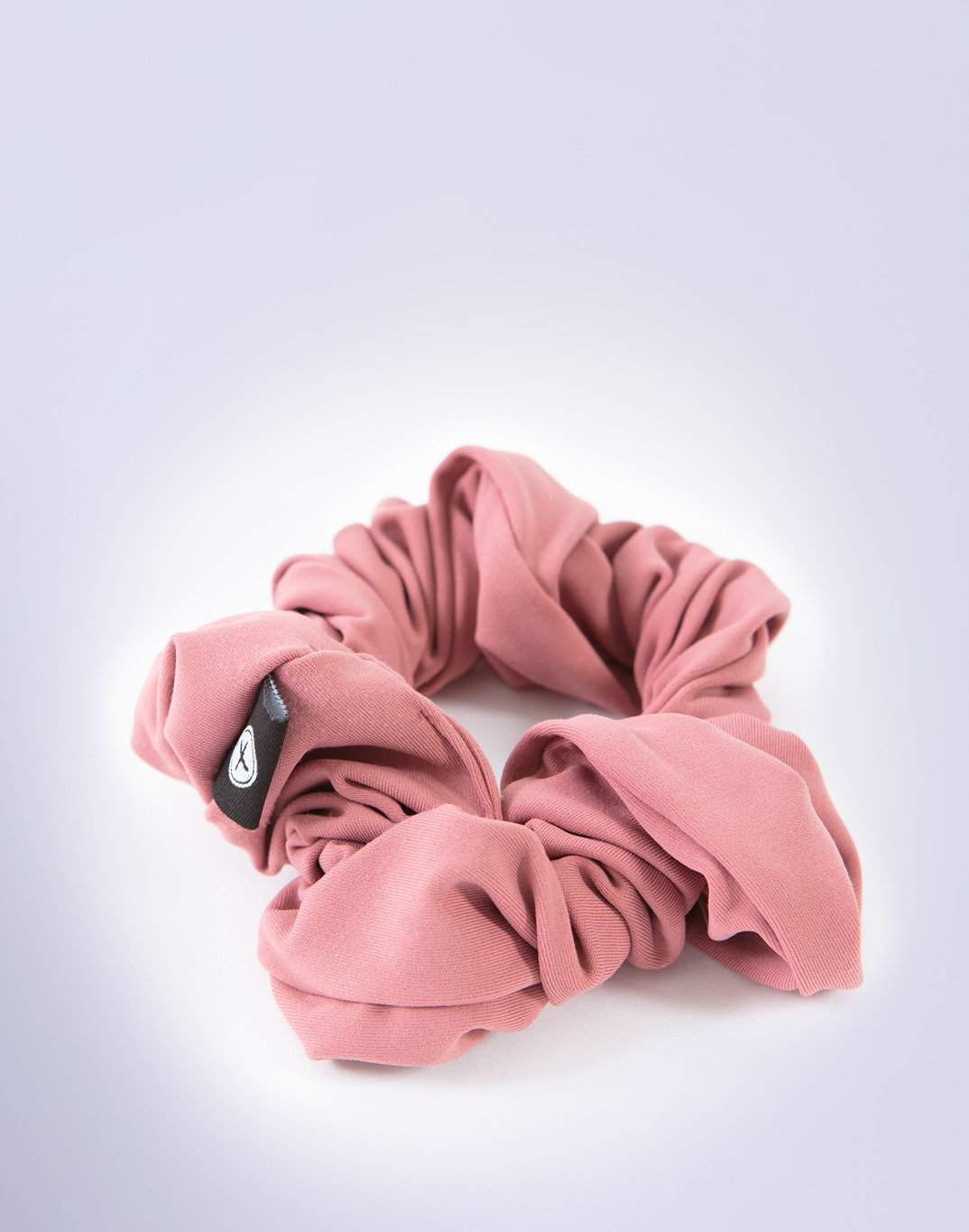 Gym Plus Coffee Scrunchie Swift Scrunchie in Pink Designed in Ireland