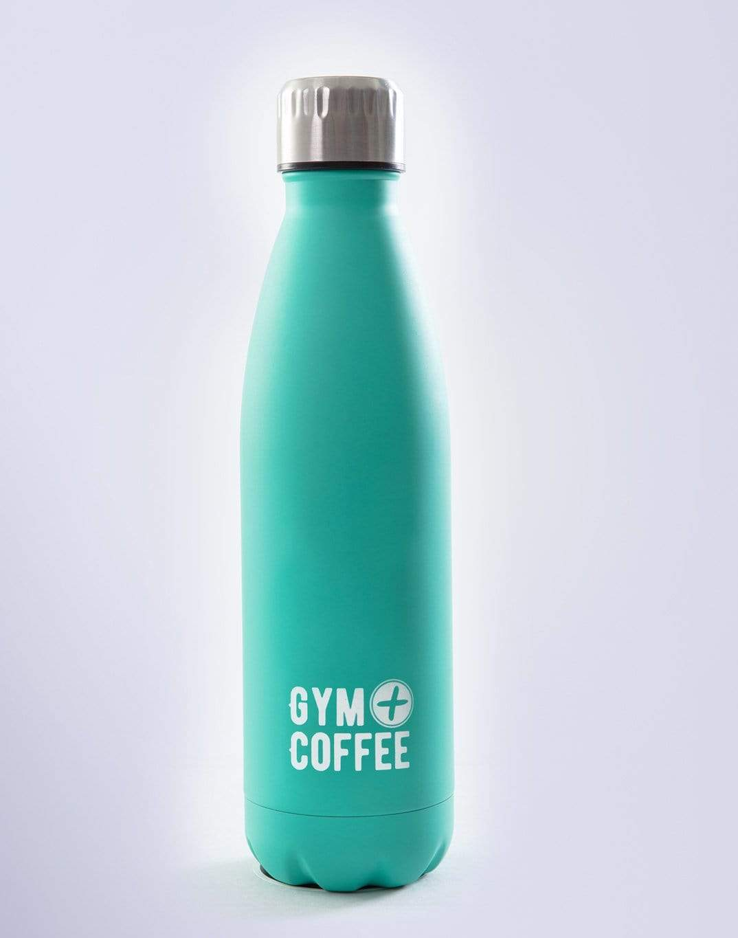 Gym Plus Coffee Water Bottles Teal Stainless Steel Waterbottle Designed in Ireland