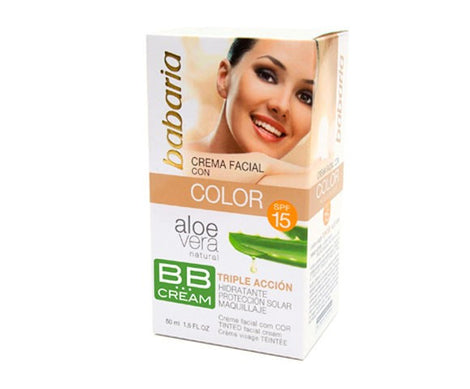 Babaria BB Cream aloe crema hidratante color