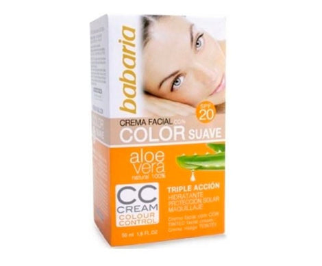 Babaria CC Cream Aloe crema hidratante color