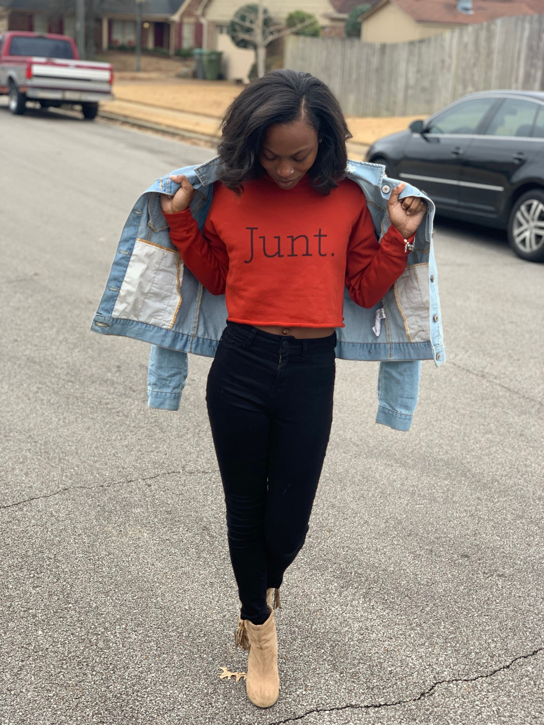 Junt Crop Sweatshirt