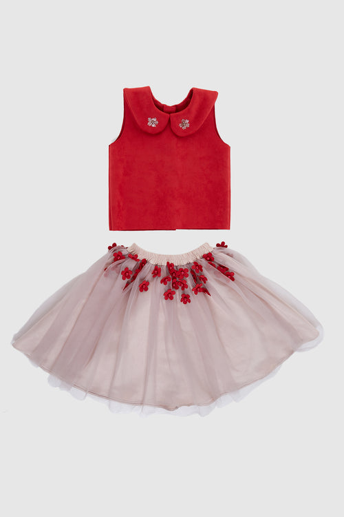 Moja Kids Red Dress