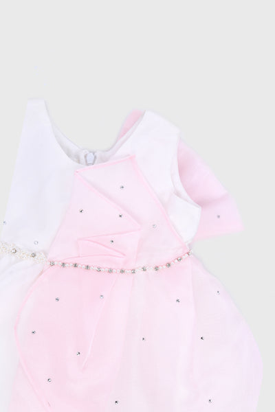 The Kaia Co Lily Dress in Pink