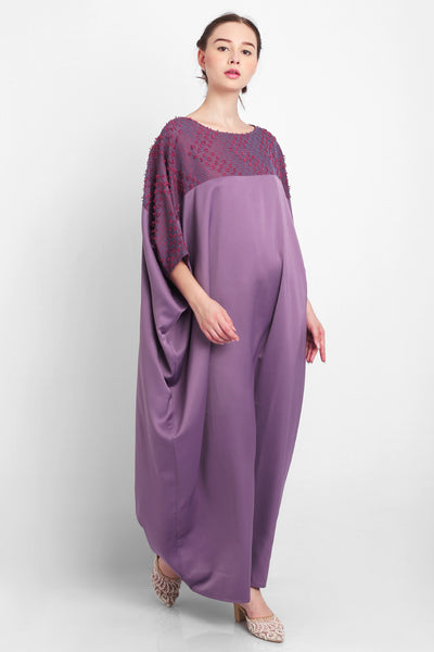 Zahiya Kaftan in Purple