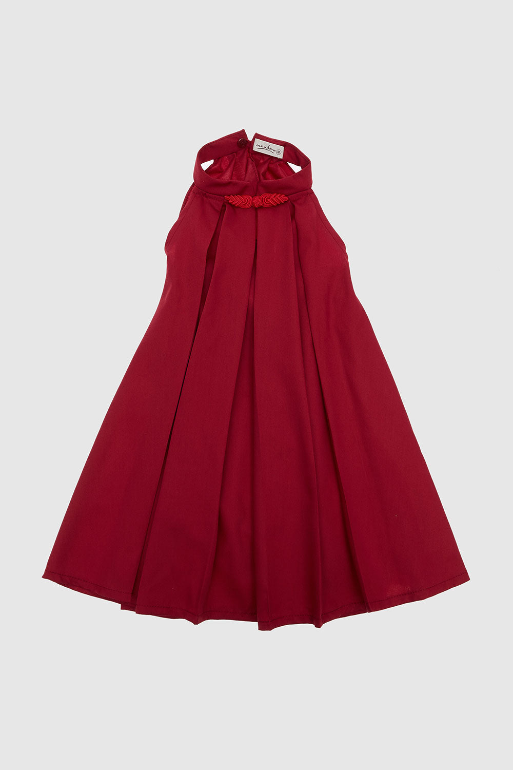 Meadow Baby Myra Dress in Maroon