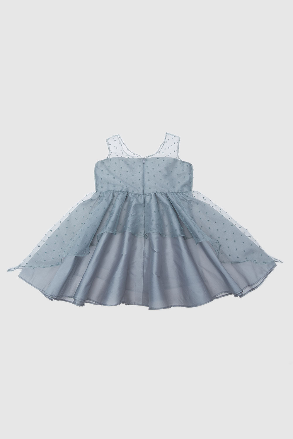 The Kaia Co Poppy Dress in Grey