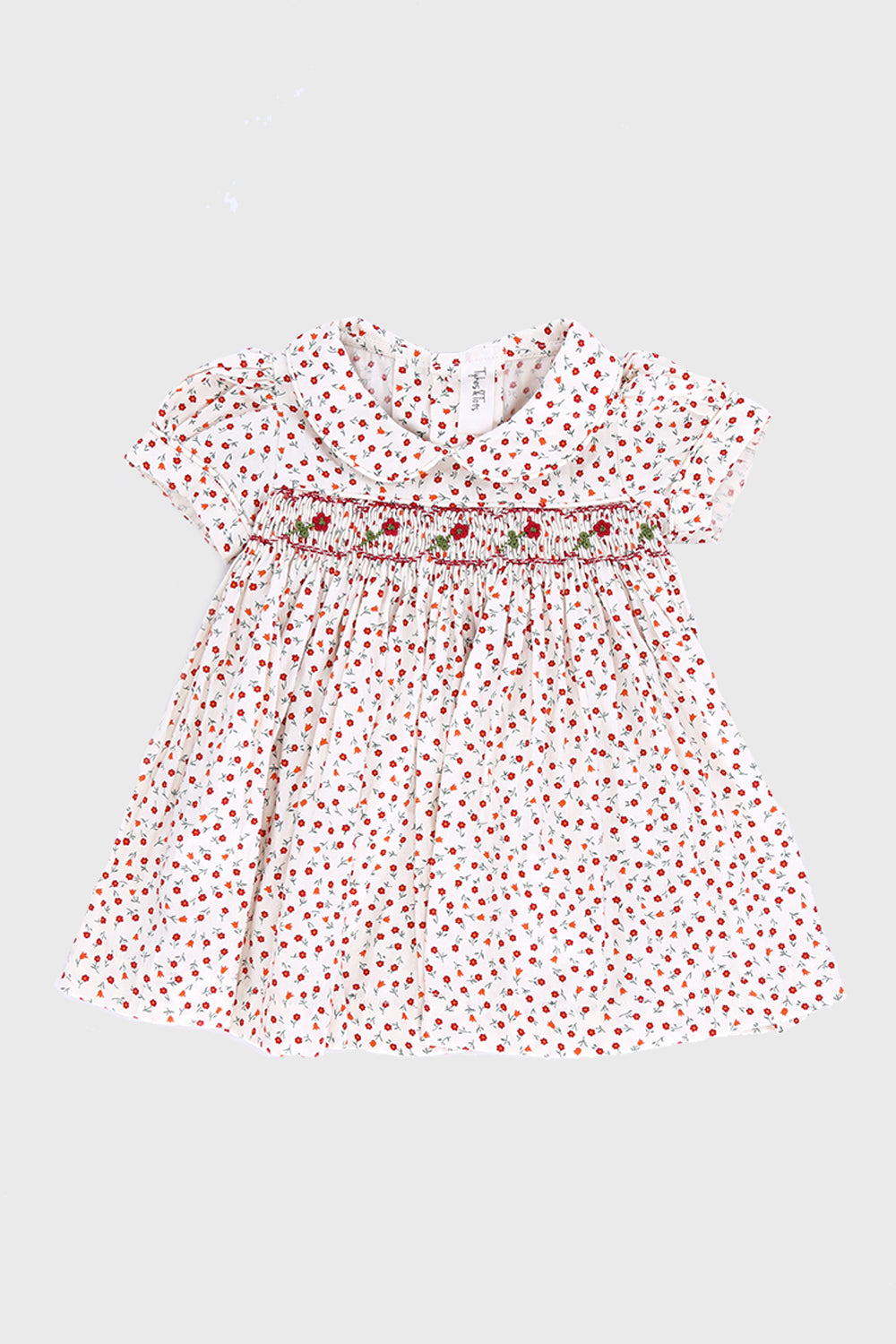 Tykes & Tots Flowery Dress