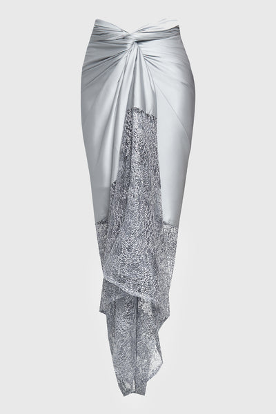 MYVB Atelier Paloma Twisted Skirt