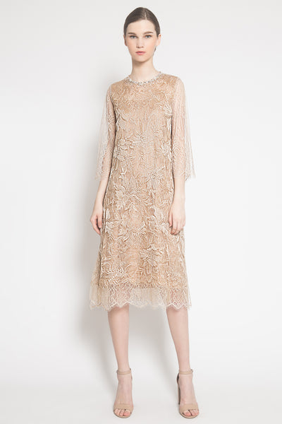 Aria Dress in Gold