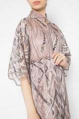 New Maureen Dress in Lavender Taupe