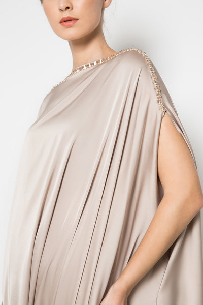 Leia Dress in Champagne