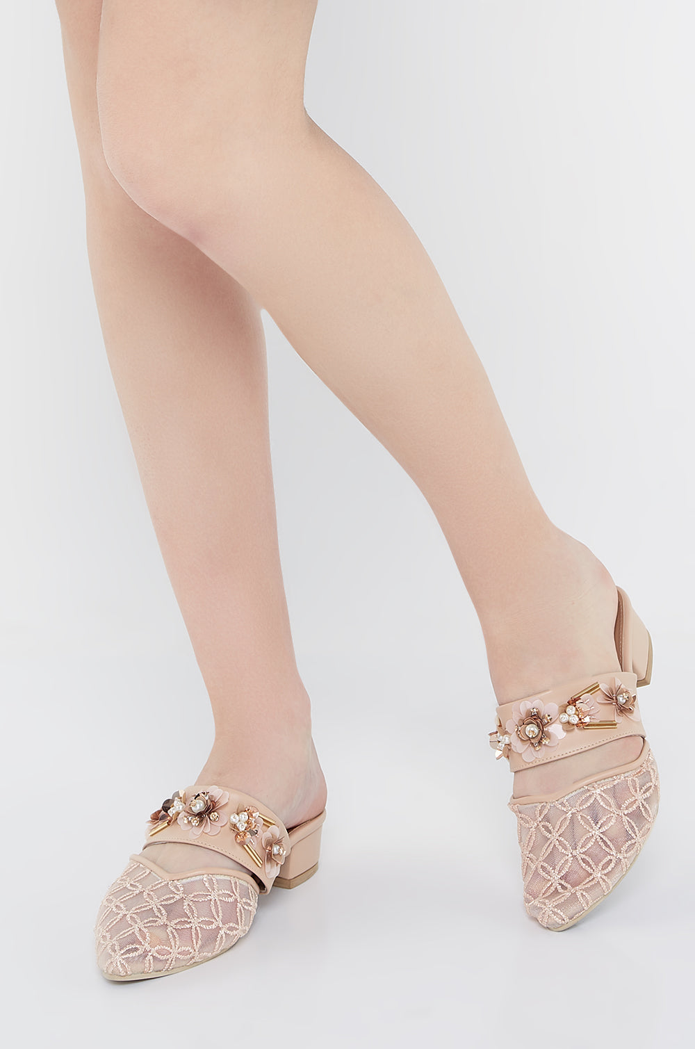 Namira Shoes In Nude