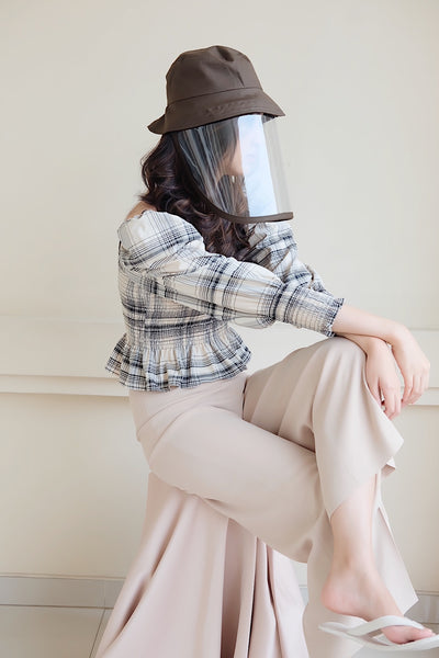 Face Shield Bucket Hat