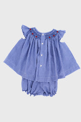 Tykes & Tots Bishop Set in Blue