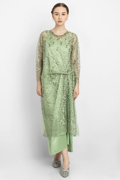 Aimee Hanna Dress in Green Mint