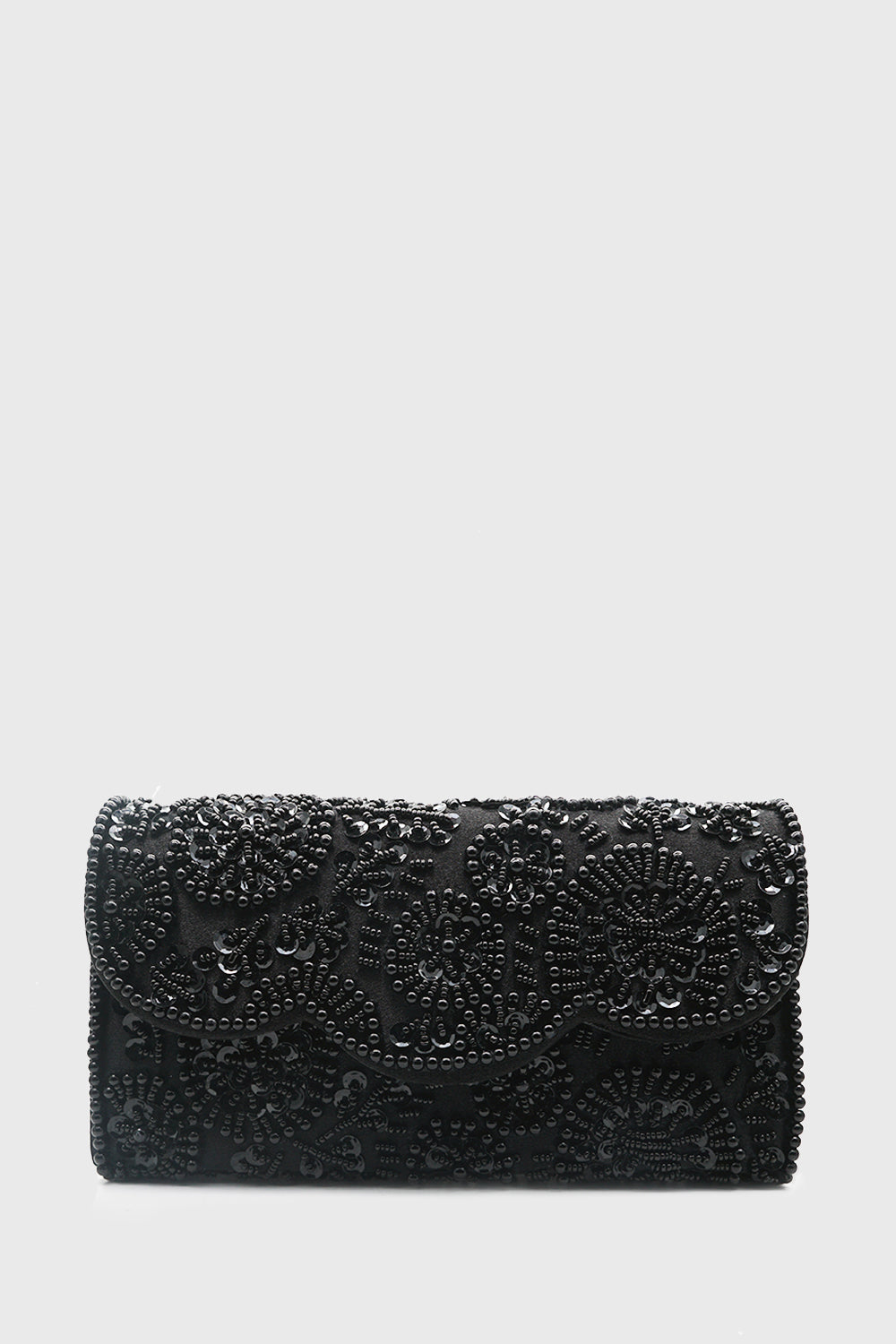 Zahra Clutch in Black