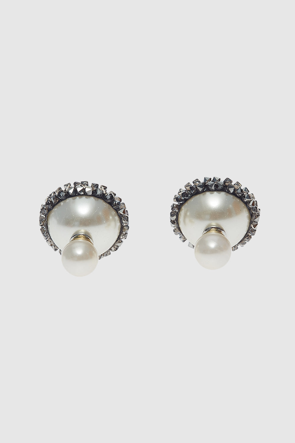 Stardust Earrings in Grey