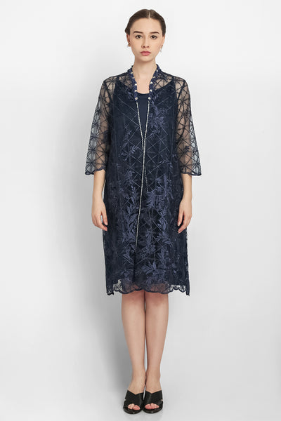 Lilly Dress in Navy