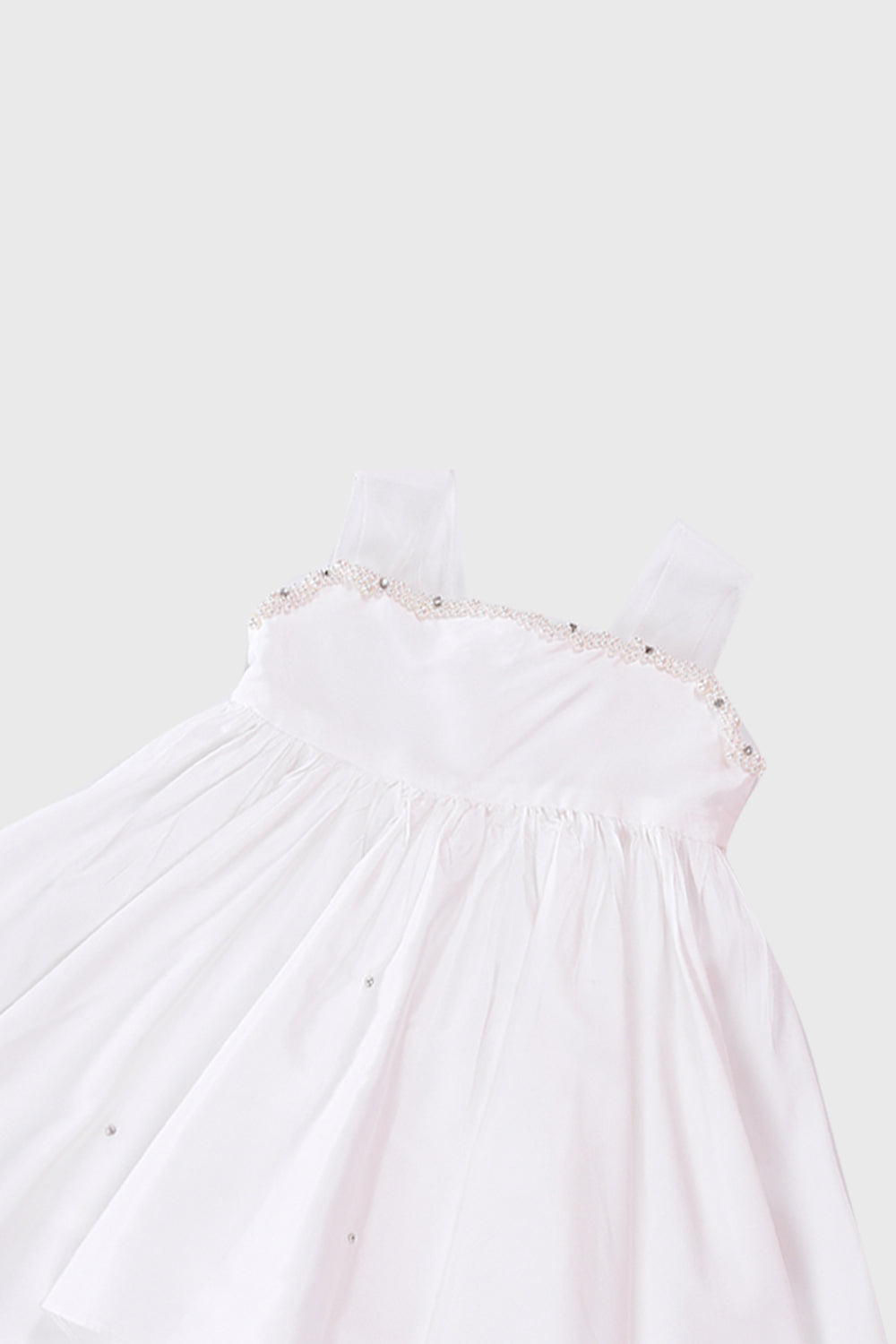 The Kaia Co Alice Dress in White