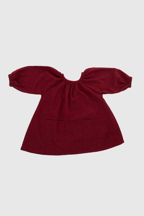 Meadow Baby Padma Dress In Wine