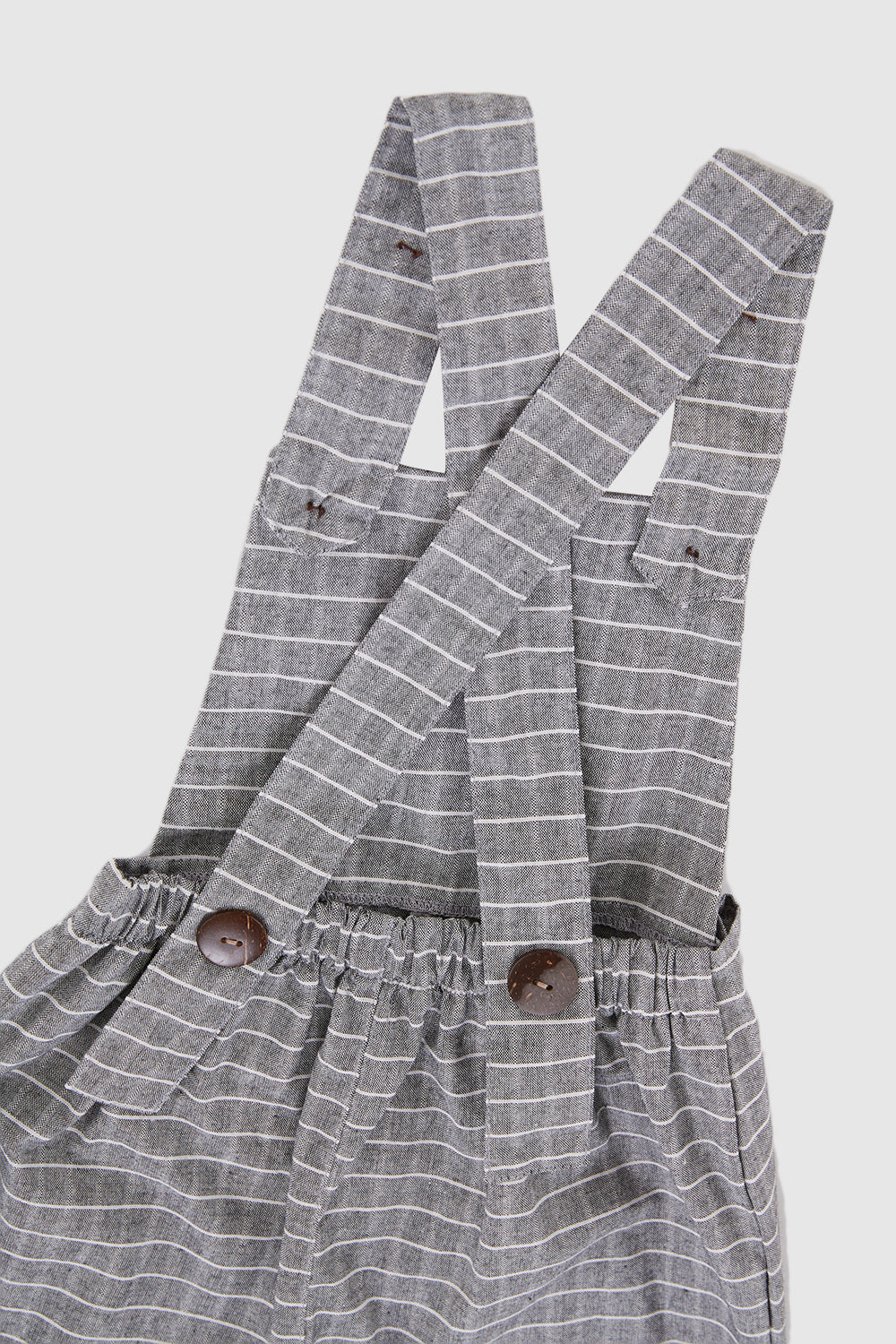 Meadow Baby Bhumi Overall In Greyish Blue