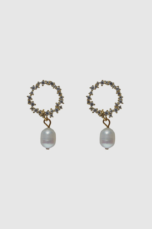 Mariko Pearl Drop Earrings