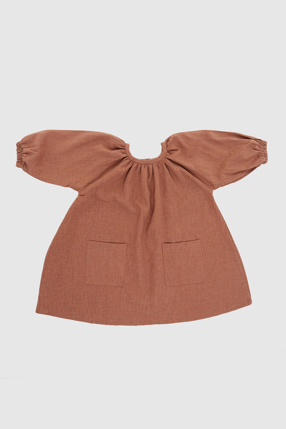 Meadow Baby Padma Dress In Nutmeg