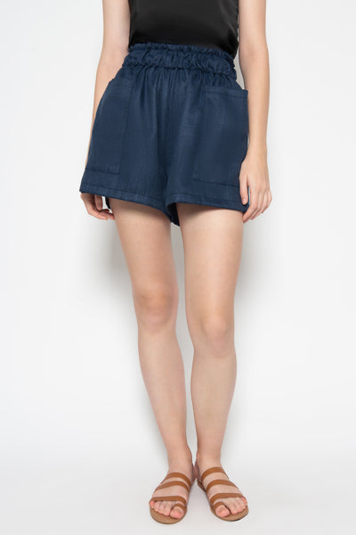Luna Short in Navy