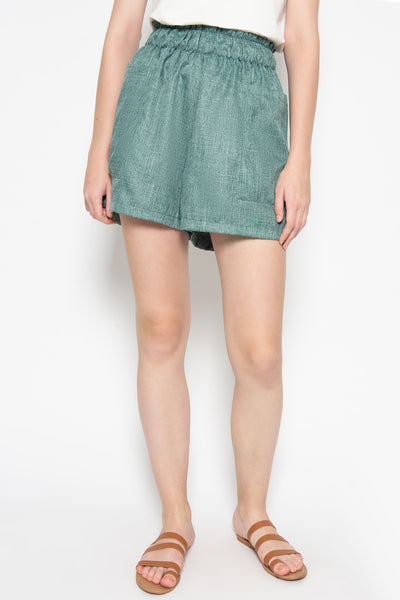 Luna Short in Teal