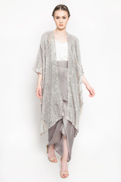 Delima Outer Set in Light Grey