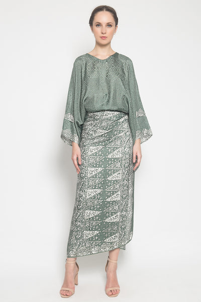 Nindy Set in Dark Green
