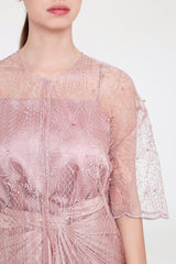Athina Outer in Blush Pink