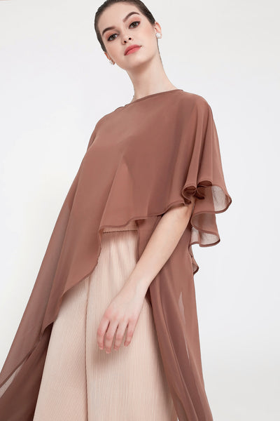 Daya Top in Brown