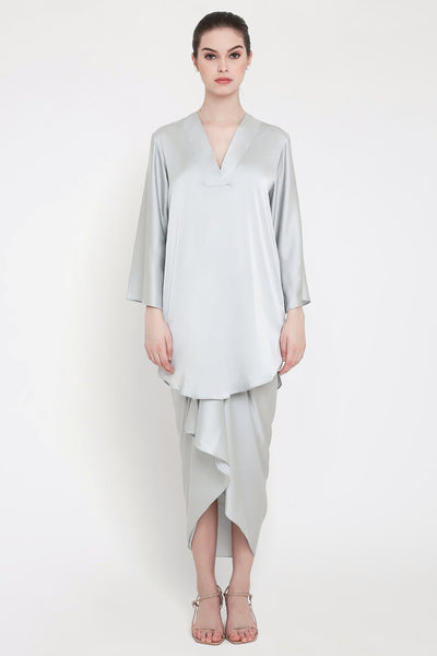 Zalina Top in Grey