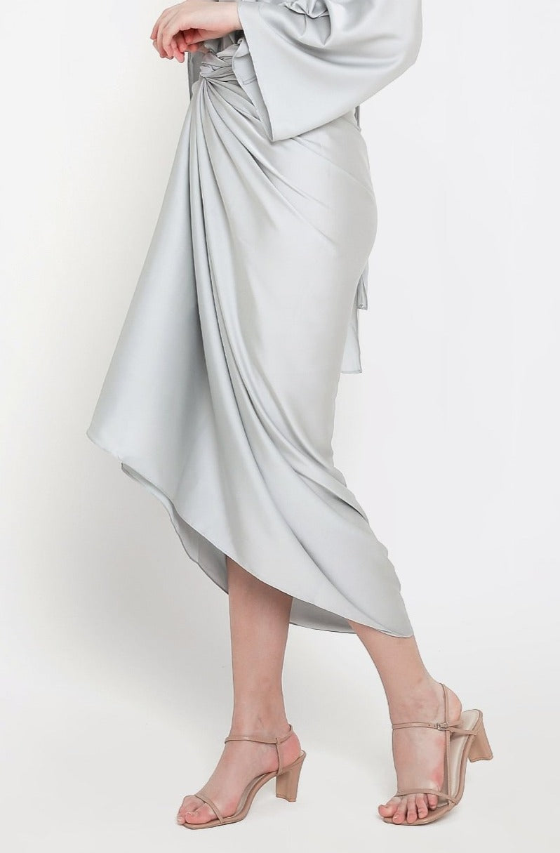 Aisyah Skirt in Grey