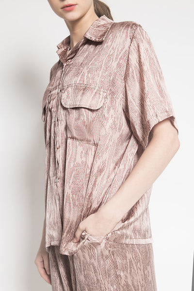 Swift Pajamas in Dusty Pink