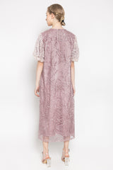 Penelope Dress in Dusty Pink