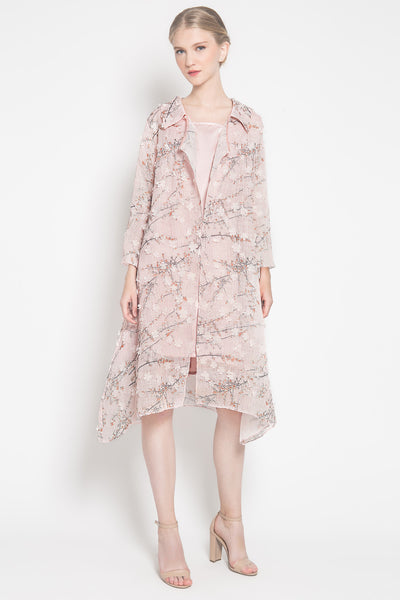 Floral Outer in Pink