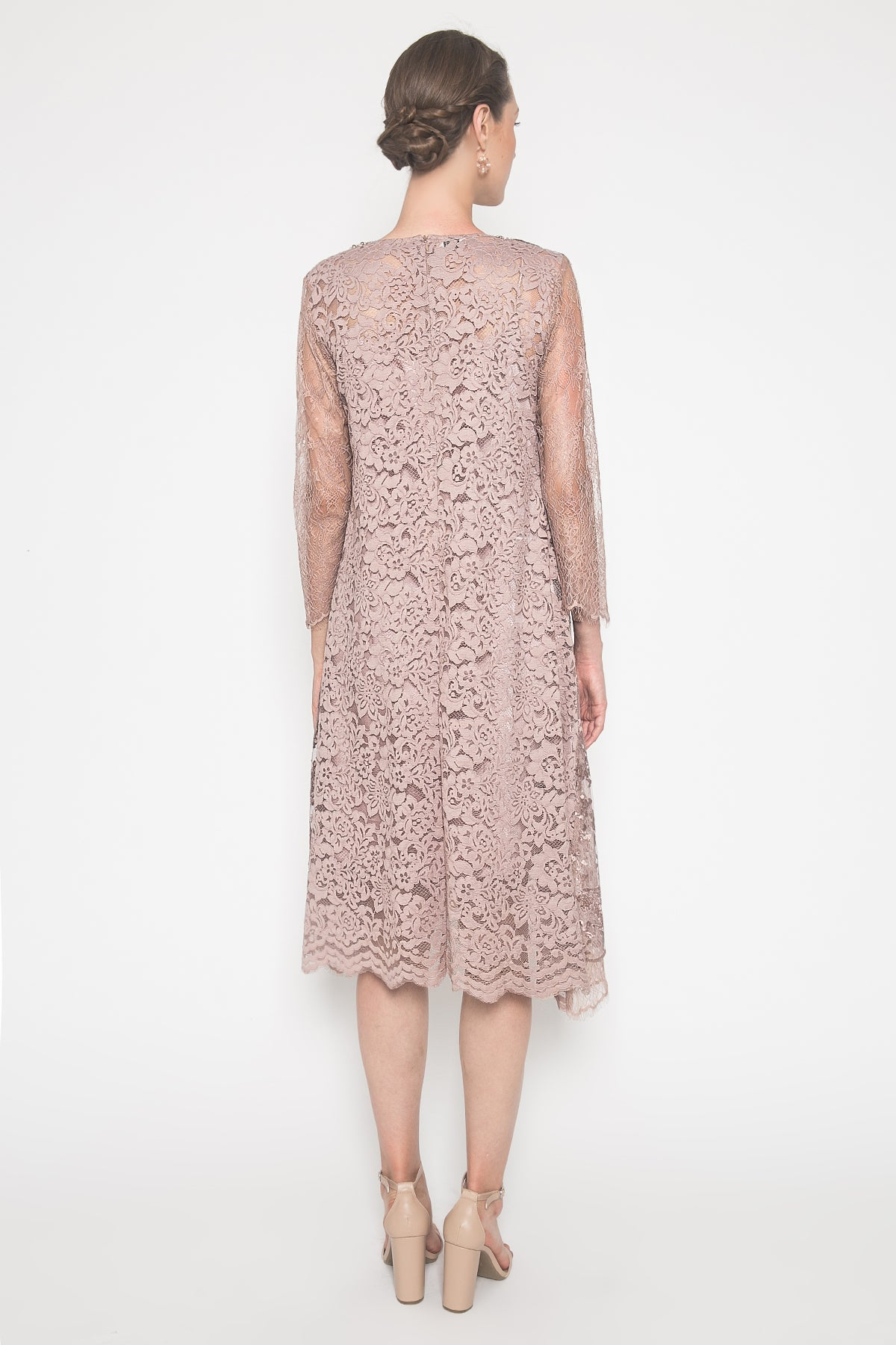 Aggie Dress in Mocca